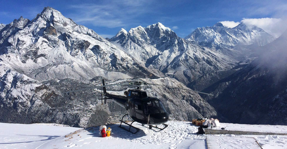 Everest Base Camp Helicopter Tour  Everest Heli Tour